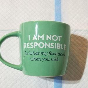 Not responsible cup/mug